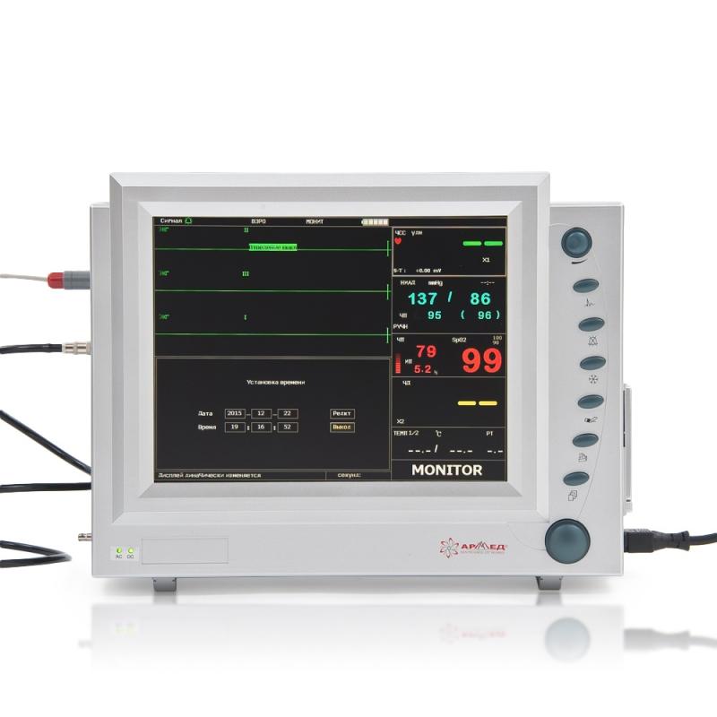 Монитор прикроватный многофункциональный медицинский Armed PC-9000b (с Nellcor-датчиками неонатальный и педиатрический)