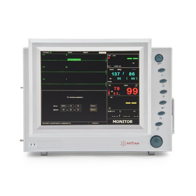 Монитор прикроватный многофункциональный PC-9000b с Nellcor-датчиками - С поверкой