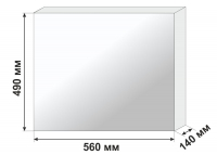 Негатоскоп общего назначения Armed 1-кадровый (флуоресцентный)