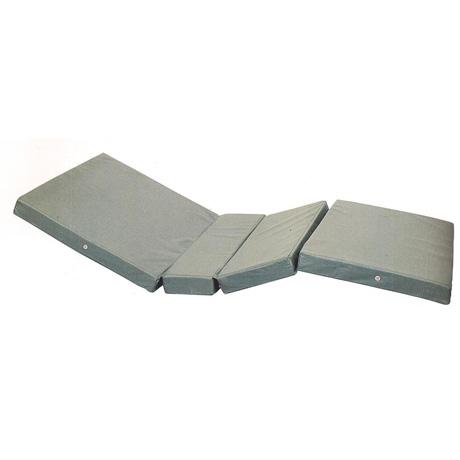 Матрац четырехсекционный, с чехлом из водоотталкивающей ткани Armed (плотная ткань)