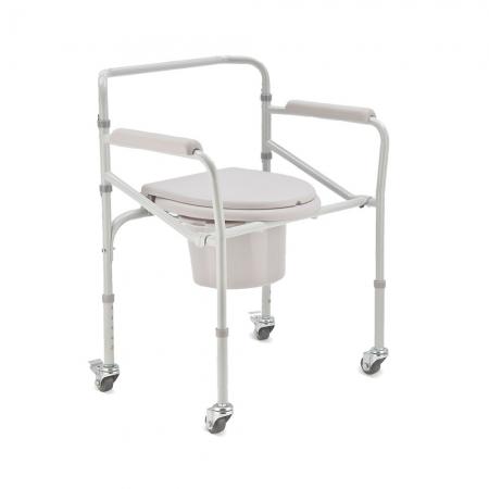 Кресло-коляска с санитарным оснащением для инвалидов Armed H 005B