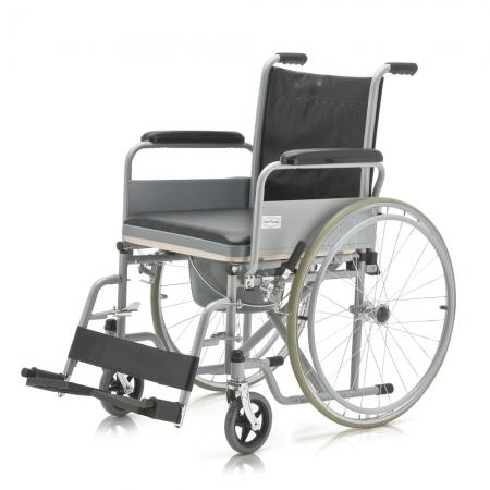 Кресло-коляска с санитарным оснащением для инвалидов Armed FS682
