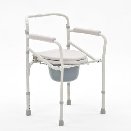 Кресло-коляска с санитарным оснащением для инвалидов Armed FS693
