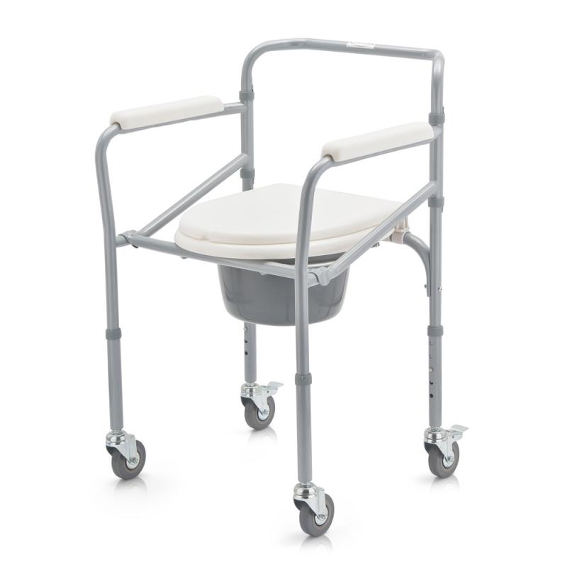 Кресло-коляска с санитарным оснащением для инвалидов Armed FS696
