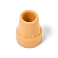 Наконечник костыля резиновый (желтый)